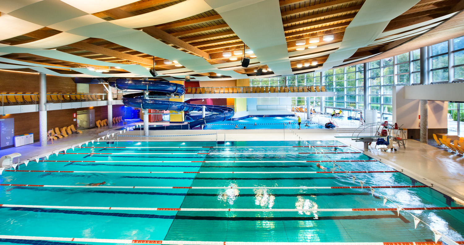 Vasca Da 25 Metri Tempi : Acquarena indoor pools